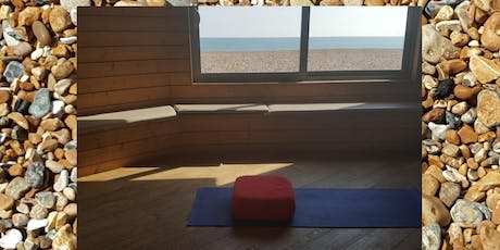 Yin yoga journey on the beach-  Brighton - Sat / Sun tickets