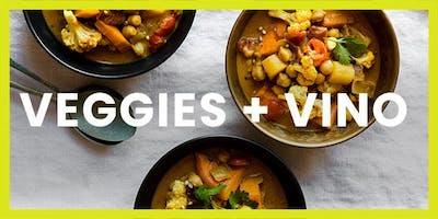 Veggies + Vino Cooking Class