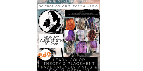 SCIENCE, COLOR THEORY & MAGIC  tickets
