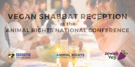 Vegan Shabbat Reception at ARNC tickets