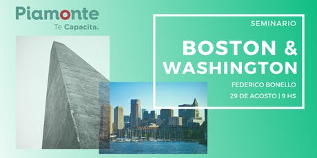 Seminario Washington y Boston entradas