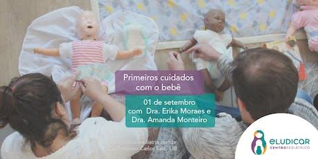 Primeiros Cuidados com o Bebê para Gestantes- Setembro ingressos