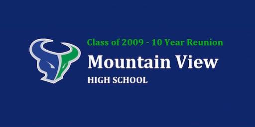 MVHS Class of 2009 - 10 Year Reunion Tickets