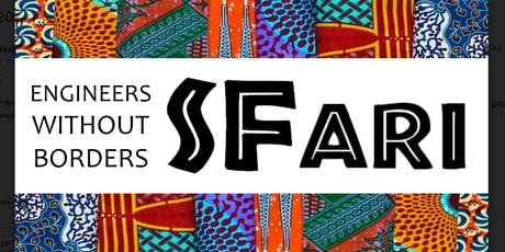 Engineers Without Borders SFari 2019 tickets
