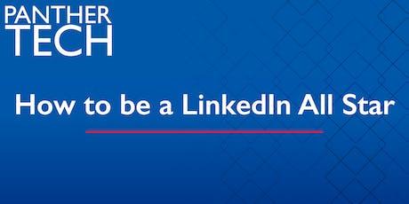 How to be a LinkedIn All-Star - Atlanta - Classroom South - Room 403/405 tickets