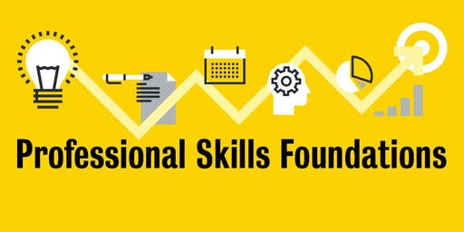 Professional Skills Foundations: Introductory Workshop (September 2019)