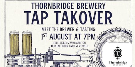 Thornbridge Tap Takeover & Tasting tickets