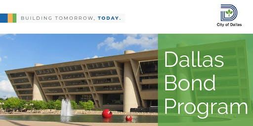 Dallas Bond Program Contractor Engagement Event