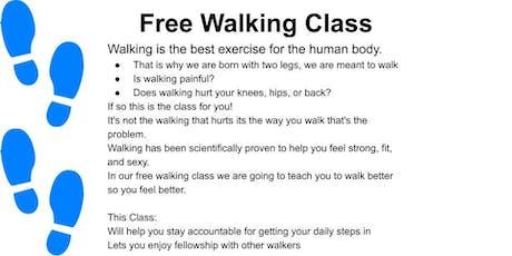 Free Walking Class tickets