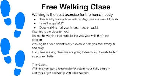 Copy of Copy of Free Walking Class