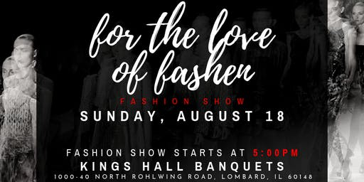 CLOTHING BRANDS! For the Love of Fashen Runway Show REGISTRATION