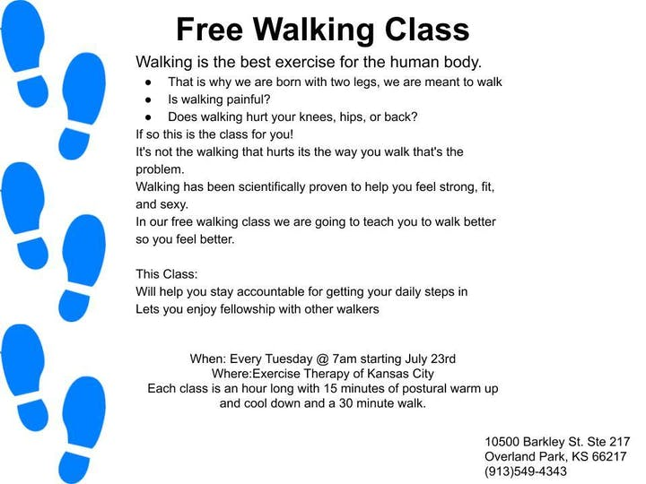 Copy of Copy of Free Walking Class Tickets, Tue, Aug 13, 2019 at 7