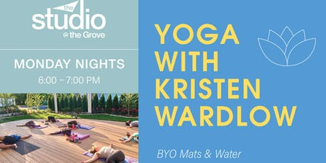 Yoga at The Studio at The Grove tickets