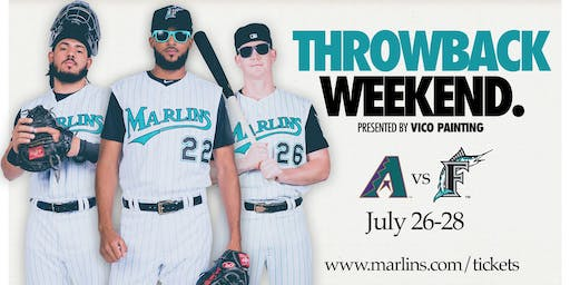 Miami Marlins Throwback Weekend Pep Rally presented by Brightline