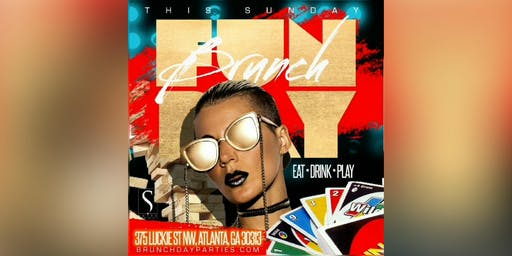 """THIS SUNDAY :: FUNDAY BRUNCH PRESENTS """"DRAW FOUR"""" (EAT × DRINK × PLAY) @ SUITE FOOD LOUNGE"""