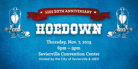 IGES 20th Anniversary Hoedown tickets