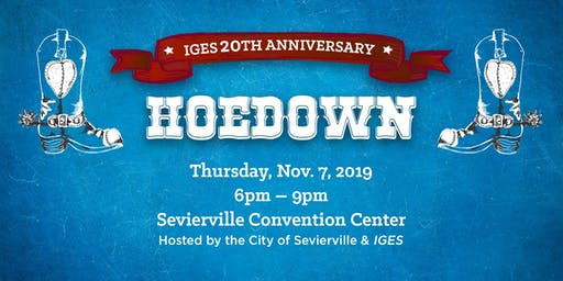 IGES 20th Anniversary Hoedown