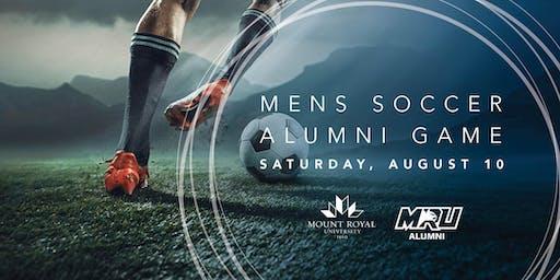 Mens Soccer Alumni Game 2019