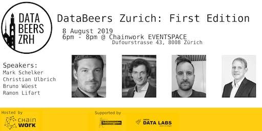 DataBeersZRH: First Edition