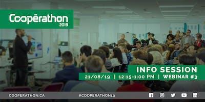Cooperathon Toronto Info Session  – Webinar #3