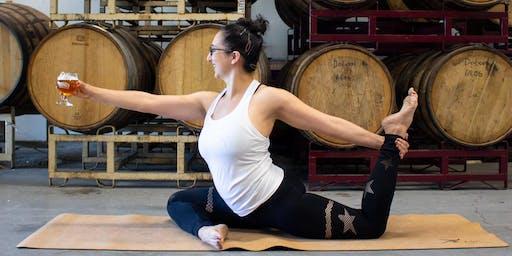 Drake's Bends, Brews & Brunch Yoga Class