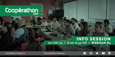 Cooperathon Toronto Info Session  – Webinar #4