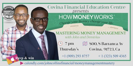 Money Management Mastery tickets