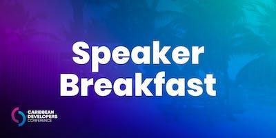 Speaker Breakfast
