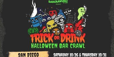 ***** or Drink: San Diego Halloween Bar Crawl (2 Days)