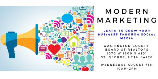 Modern Marketing- Learn to grow your Business through Social Media