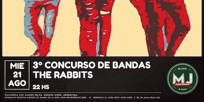 CONCURSO DE BANDAS MR JONES LIVE