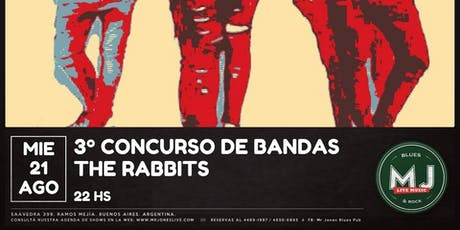 CONCURSO DE BANDAS MR JONES LIVE tickets