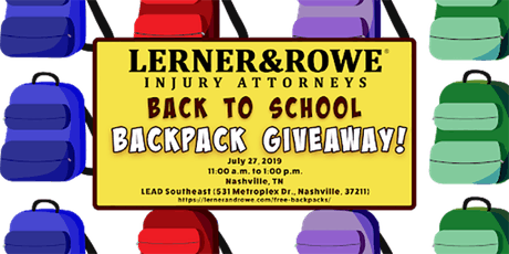 FREE Back to School - Backpack Giveaway tickets