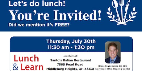 Northeast Ohio Hearing Center Lunch and Learn tickets