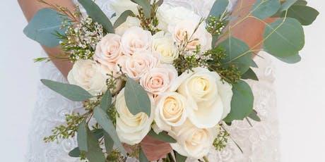 Wine & Design: Dreamy Bridal Bouquets Class tickets