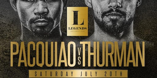 Pacquiao vs Thurman Live on our 30 foot HDTV Video Wall