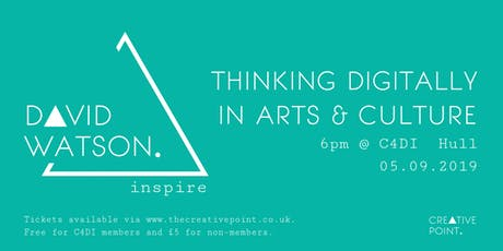 Creative Point: Thinking Digitally In Arts & Culture tickets