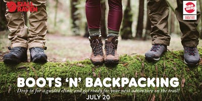 Boots + Backpacking
