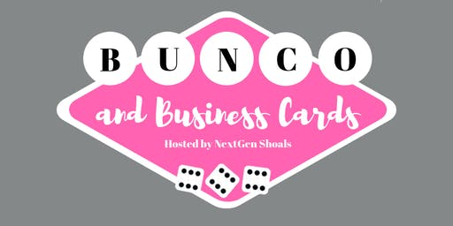 Bunco and Business Cards - August 2019