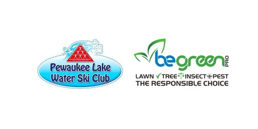 Enjoy the Pewaukee Lake Water Ski Show in Comfort Compliments of Be Green Pro