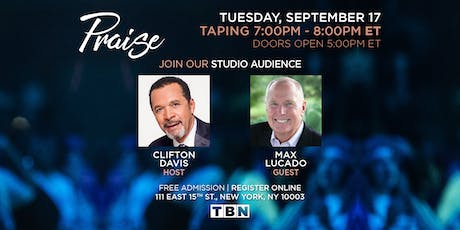 NY - Max Lucado with host Clifton Davis tickets