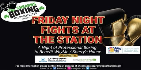 Friday Night Fights at the Station tickets