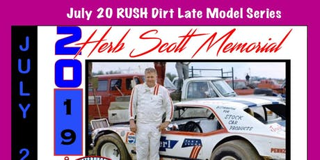 Herb Scott Memorial featuring the RUSH Late Model Dirt Series Touring Series tickets