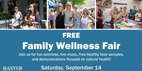 Bastyr University Clinic Free Wellness Fair tickets