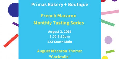 French Macaron Monthly Tasting Series tickets