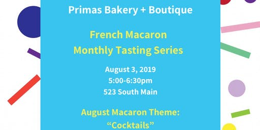 French Macaron Monthly Tasting Series