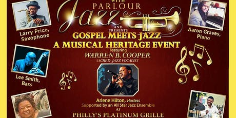Gospel Meets Jazz, A Musical Heritage Event tickets
