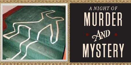 Murder Mystery Dinner 10/25/19 tickets
