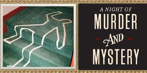 Murder Mystery Dinner 10/25/19