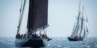 Hunt's Photo Walk: Sailing in Gloucester Harbor- Schooner Fest!